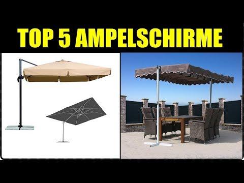 TOP 5 AMPELSCHIRME ★ Ampelschirm Test ★ Ampelschirm 2018 ★Ampelschirm Rhodos, Ampeschirm Schneider..