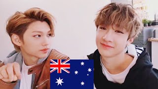 Stray Kids Aussie Line speaking English 🔥 [compilation 5]