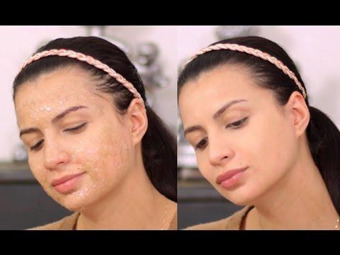 Das Wasserstoffperoxid die Säuberung der Gesichtshaut