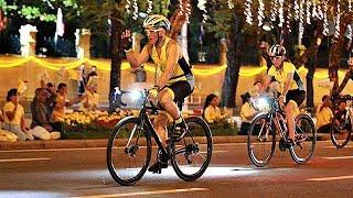 สมเด็จพระเจ้าอยู่หัว ทรงจักรยานนำขบวน 'Bike อุ่นไอรัก' [9ธ.ค.61]