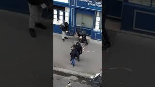 manif,' interpelation rue michel chasles Paris 11/01/2020