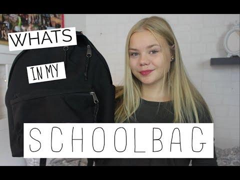 WHATS IN MY SCHOOLBAG 2017    VIVOS WORLD