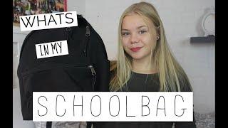 WHATS IN MY SCHOOLBAG 2017 || VIVOS WORLD