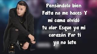 Nio Garcia Hoy Se Bebe Letra