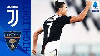 Juventus win against 10-man Lecce thanks to goals from Cristiano Ronaldo, Paulo Dybala, Gonzalo Higuain and Matthijs De Ligt | Serie A TIM  This is the official channel for the Serie A, providing all the latest highlights, interviews, news and features to keep you up to date with all things Italian football. Subscribe to the channel here! https://bit.ly/2OM2Eax   Find out more about the Serie A at: http://www.legaseriea.it/en/   Questo è il canale ufficiale della Serie A, dove potrai avere accesso ai momenti salienti, alle interviste, alle notizie e alle funzionalità del momento per rimanere aggiornato sulle ultime novità del campionato. Iscriviti qui al canale! https://bit.ly/2OM2Eax  Per maggiori informazioni sulla Serie A: http://www.legaseriea.it/it