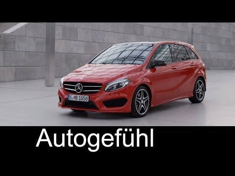 Mercedes B-Class new AMG Line B250 4MATIC exterior interior Mercedes B-Klasse Facelift