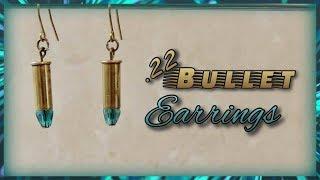.22 Bullet Earrings