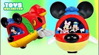 Disney Jr. MICKEY MOUSE & FRIENDS Airplane Jet, Minnie Donald Fly Pilot PJ Masks Paw Patrol / TUYC