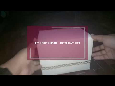 [PACKING VIDEO] DIY KPOP INSPIRED BIRTHDAY GIFT