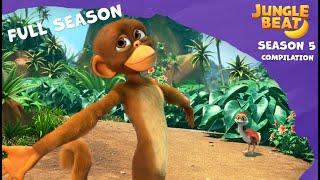 Full Season Compilation   Jungle Beat: Munki and Trunk   Kids Animation 2021