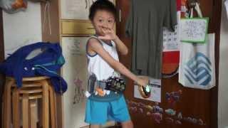臭Fing試玩 - 幪面超人OOO 變身腰帶 (2013-07-06)