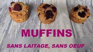 Muffins sans défaut (vegan)