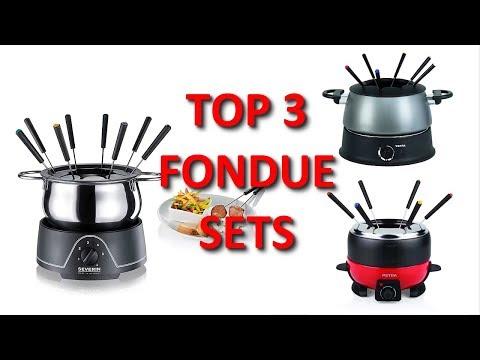Die 3 besten elektrischen Fondue Sets unter 80 Euro - Fondue-Sets mit Zubehör