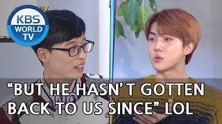 """Sehun """"Jaeseok promised me that he would buy me a new TV"""" [Happy Together/2018.11.22]"""