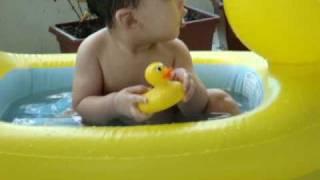JE in his Bath Duck