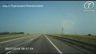 Лихачество водителя «Ситроена» на тульской дороге привело к страшному ДТП
