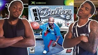 CLASSIC VIDEO GAME RIVALRY! - NBA Ballers (Xbox)   #ThrowbackThursday ft. Juice