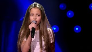 Romy   'Same Old Love' | Blind Auditions | The Voice Kids | VTM