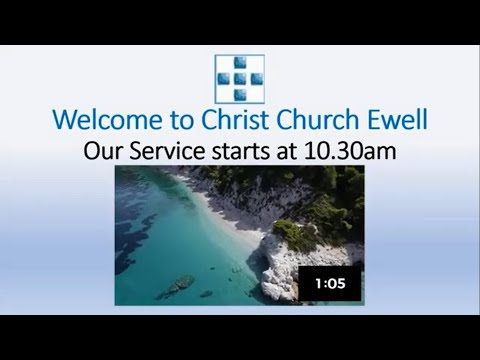 "Zoom Webinar CCE Sunday Service - ""Creation"" - April 19th"