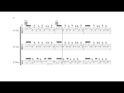 Bomberman 2 (NES) - Area 1 Theme - Guitar/Bass Tabs + Chords