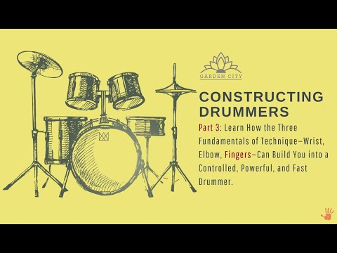 Constructing Drummers Pt. 1-3. A 2-3 Year Series of $3500, only $50.