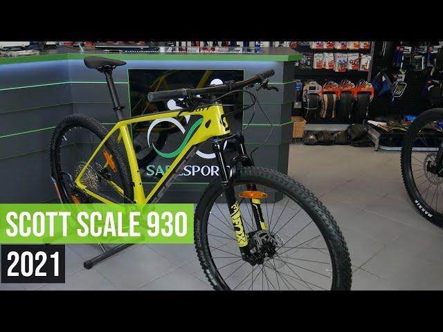 Видео Велосипед Scott Scale 930 Wakame Green