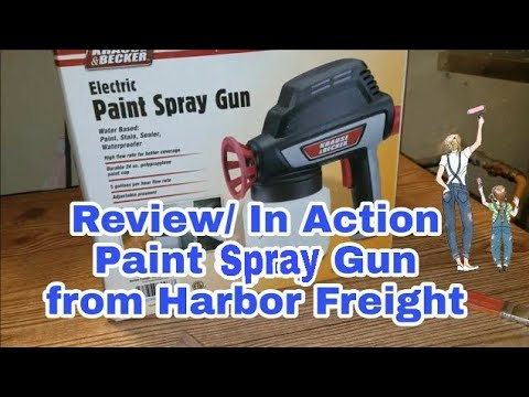 Review | Paint Spray Gun from Harbor Freight