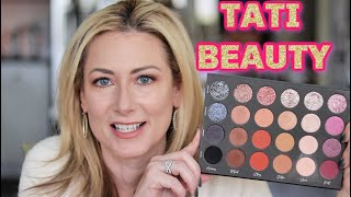 Tati Beauty Textured Neutral Palette | Review for Over 40 | MsGoldgirl