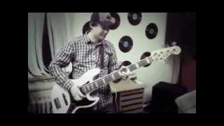 Video Fender jazz bass americna deluxe V (slap bass)