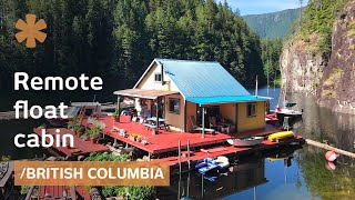 Download Youtube: Off-grid float cabin: retirement tiny dream home in BC wilderness