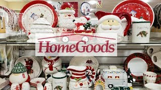 SHOP WITH ME HOMEGOODS KITCHEN DECOR CHRISTMAS  2018