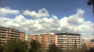 preview picture of video 'Time lapse 3 març 2014 [Barcelona - Les Corts]'