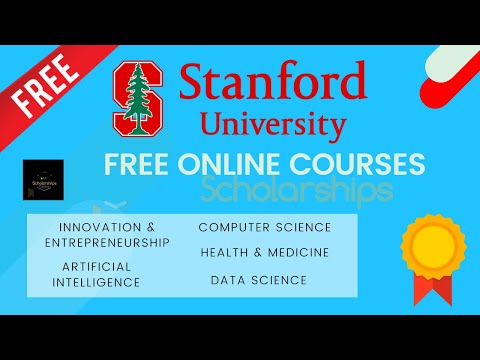 Stanford University Free Online Courses   Stanford Online   Verified Courses