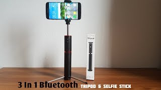 3 In 1 Bluetooth Selfie & Tripod Stick [ Review & Unboxing ]