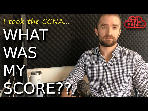 My CCNA 200-301 exam experience: What's my score?? - YouTube