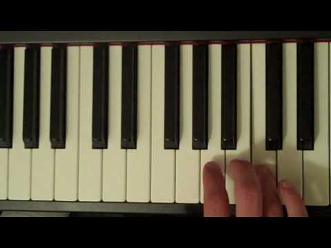 How To Play a C Major Pentatonic Scale on Piano