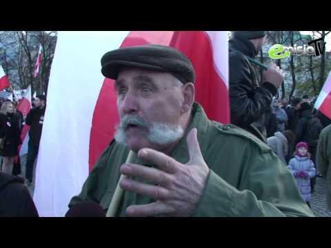 Prawdziwy Polak na Marszu Niepodległości