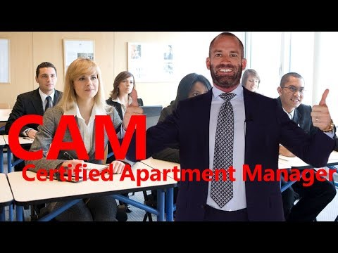 Certified Apartment Manager CAM - YouTube