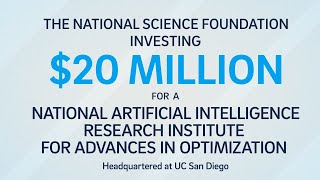 Newswise:Video Embedded nsf-makes-20-million-investment-in-optimization-focused-ai-research-institute-led-by-uc-san-diego
