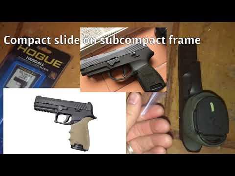 SIG SAUER P320 Hogue® HandALL® Beavertail Grip Sleeve