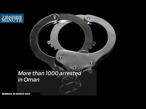 More than 1,000 arrested in Oman