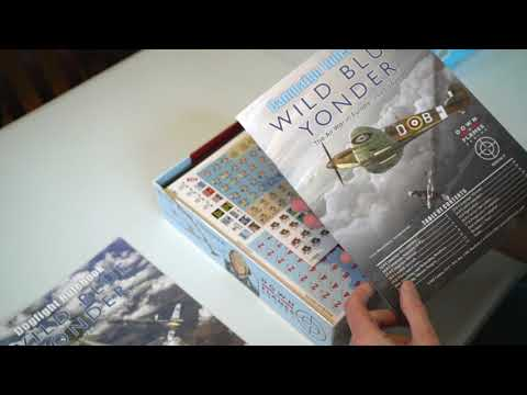 What's in the Box, Wild Blue Yonder from GMT Games