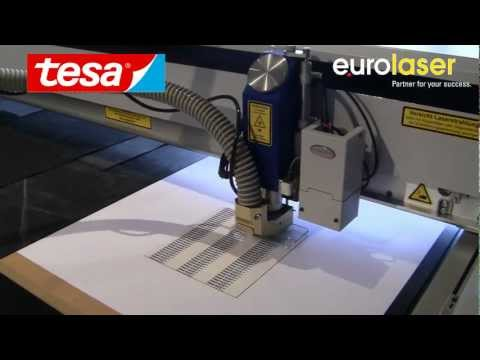 tesa® ACXplus acrylate adhesive tapes | Laser cutting test