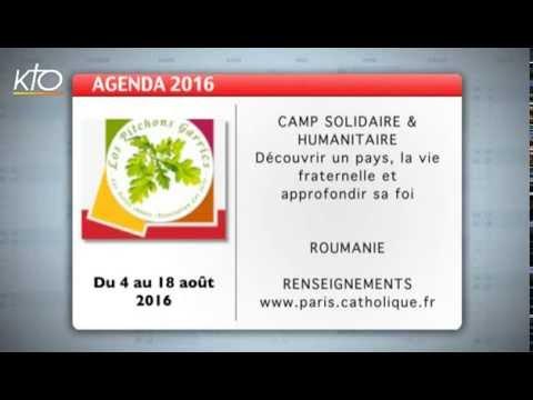 Agenda du 22 juillet 2016