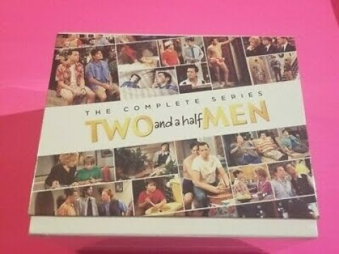 Two and a half Men: The Complete Series DVD Unboxing