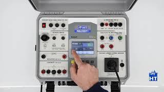 HT FULLTEST3 Tutorial - Verifica parametri di assorbimento e corrente dispersa di un dispositivo