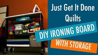 Make Your Own Ironing Board - Easy DIY