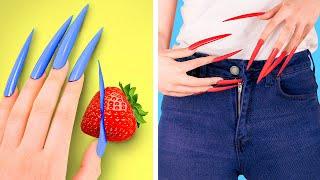 लंबे और छोटे नाखूनों की लड़कियों की परेशानियां - Download this Video in MP3, M4A, WEBM, MP4, 3GP