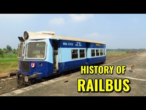 History of Railbus of indian railway