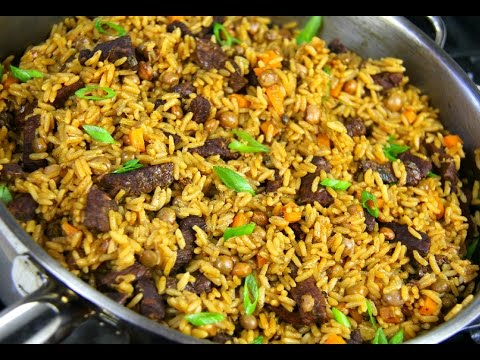 Tasty Beef Pelau #TastyTuesdays   CaribbeanPot.com